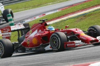Fernando Alonso, 4º en un GP de Malasia donde Hamilton vence con autoridad