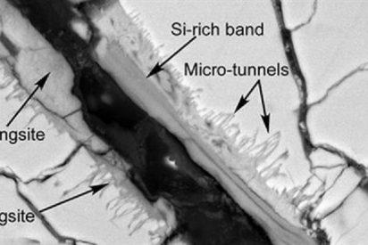 La NASA publica las fotos del meteorito de Marte con extraños rastros de vida