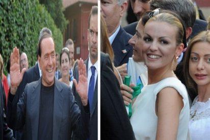 Berlusconi y Francesca se darán el 'sí quiero' en abril por encima de dimes y diretes