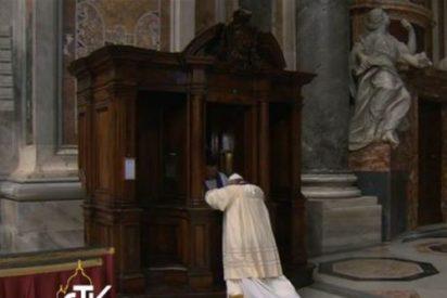 El Papa también peca...y se confiesa