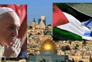 Francisco visitará un campo de refugiados palestinos durante su visita a Tierra Santa