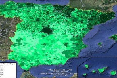 El mapa de lo que ganan las sufridas familias españolas descoloca a cualquiera