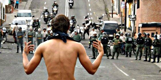 La principal ciudad de los Andes de Venezuela se rebela contra el Gobierno chavista