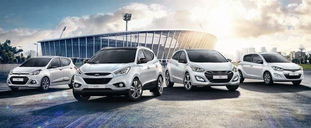 Hyundai tendrá ediciones especiales Go! Brasil para el Mundial