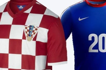 Camisetas de Croacia para el Mundial