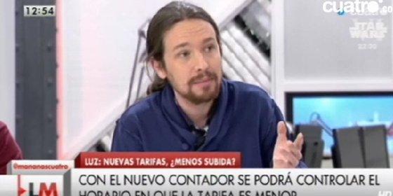 Fuego amigo contra Pablo Iglesias: una web de izquierdas le recuerda sus elogios a Zapatero