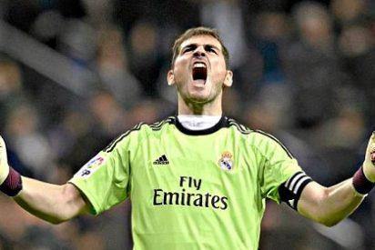 """Iker Casillas: """"El Real Madrid es líder por sus propios méritos y también por Diego López"""""""