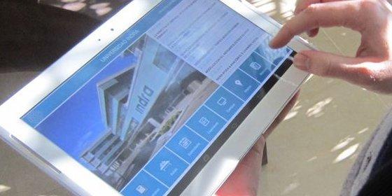 Indra crea una aplicación para smartphones que permite personalizar el acceso a servicios de universidades