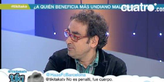 Iturralde desvela que el Madrid le impidió pitar un partido