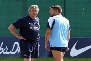 El jugador de la Selección quiere salir del Manchester City