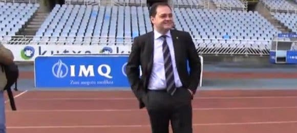 El presidente de la Real Sociedad habla de las renovaciones de sus jugadores