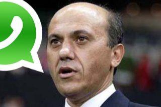 Filtran el estado de Whatsapp de Del Nido