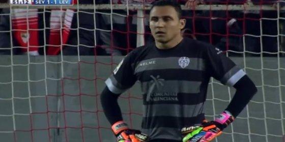El Sevilla se adelanta por Keylor