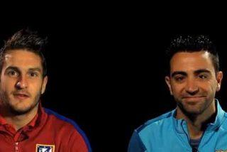 Koke y Xavi analizan el enfrentamiento de Champions