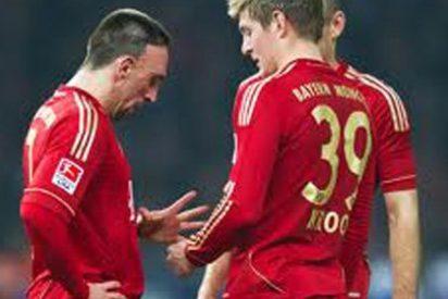 Toni Kross hace un guiño al Manchester United