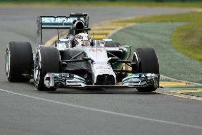 Hamilton, 'pole' con Mercedes en el GP de Australia 2014 de Fórmula 1 y Alonso, quinto