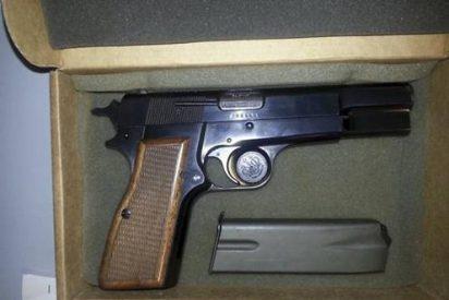 La pistola del atentado a Juan Pablo II, en Cracovia