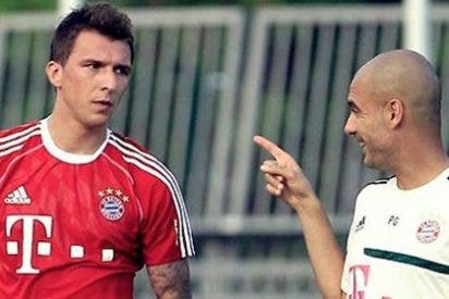 Mandzukic prefiere a Wenger que a Guardiola