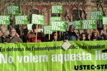 Las escuelas catalanas inician una semana de protestas que culmina con la manifestación en la Universitat