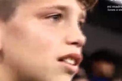 Manolín: el niño desolado porque le robaron una camiseta de Cristiano Ronaldo