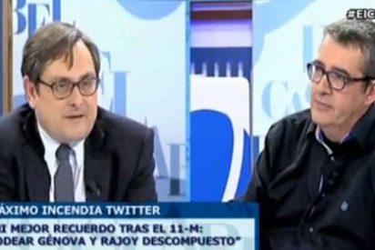 """Max Pradera dispara al PP y a Losantos: """"Despreciaré al facherío siempre"""""""