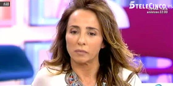 """El emotivo regreso de María Patiño tras la muerte de su madre: """"Se quejaba de que no decía muchas veces te quiero"""""""