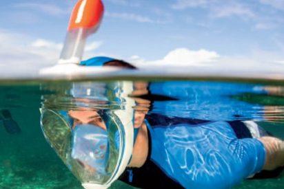 Respira bajo el agua como en la tierra con esta fabulosa máscara de Tribord