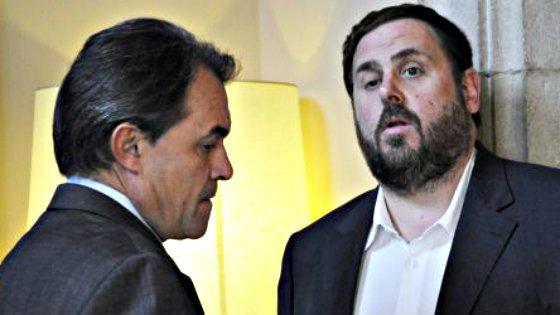 """Los independentistas vaticinan para noviembre de 2014 un """"escenario insurreccional"""" en Cataluña"""