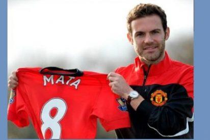 Así ha sido el primer gol de Mata con la camiseta del Manchester