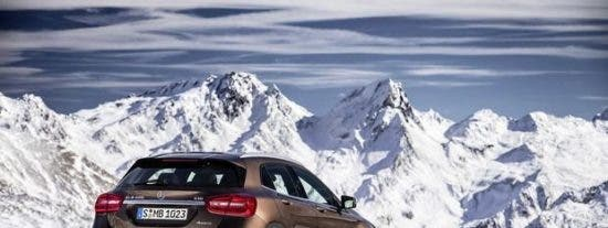 Mercedes-Benz GLA, un SUV muy dinámico