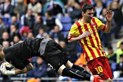 El Barça sigue en la pelea de la Liga apuntado al penalty 'injusto' de Leo Messi