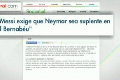 Neymar, ¿vetado por Messi para el Clásico?
