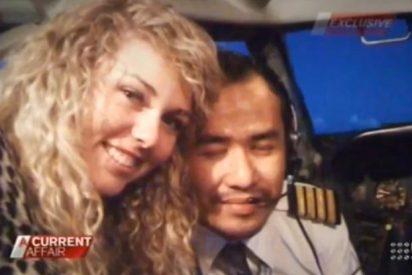Los pilotos del avión malasio montaban juergas con rubias macizas en pleno vuelo