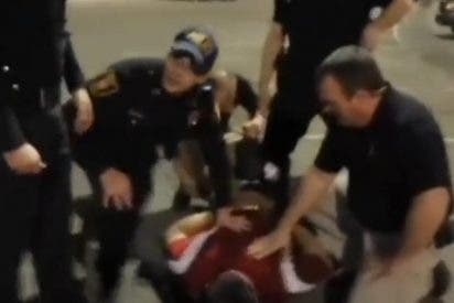 El perturbador vídeo de la mujer que grabó la muerte de su marido a manos de la Policía