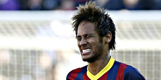 Barton se mofa de Neymar en Twitter