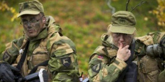 Las soldados noruegas dormirán a pata suelta en dormitorios unisex con los hombres