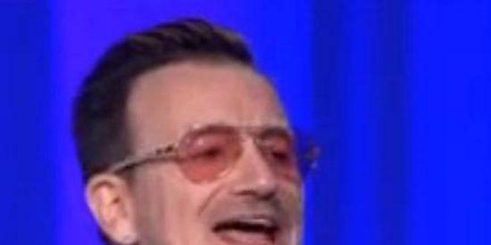 [Vídeo] Bono pide con ahínco a la UE que anime la 'marca España'...¡y a U2 a sacar un disco flamenco!