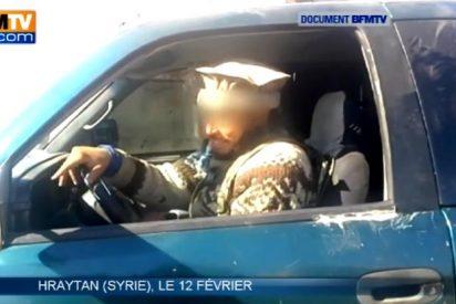 El vídeo del cachondo yihadista arrastrando cadáveres mutilados deja a los franceses en mal lugar