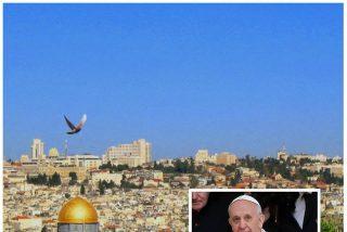 El patriarca latino de Jerusalén y el ministro de Turismo de Israel negocian el viaje del Papa a Tierra Santa