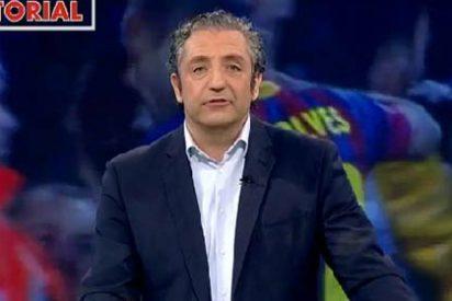 """Pedrerol se pregunta: """"¿Quién es Dani Alves para dar al público lecciones de barcelonismo?"""""""