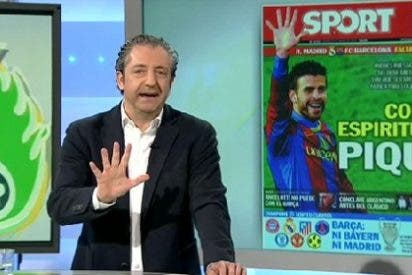 """Pedrerol: """"La portada del Sport es perfecta para decorar el vestuario del Real Madrid"""""""