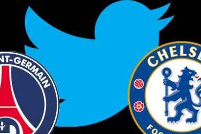 PSG y Chelsea se pican en Twitter antes del partido