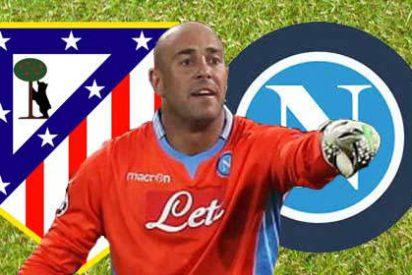 Atlético y Nápoles ya conocen el precio de Pepe Reina