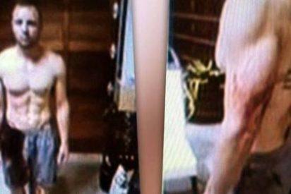 Muestran las fotografías de Pistorius ensangrentado tras matar con su novia