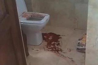 Filtran imágenes del baño ensangrentado en el que murió la novia de Pistorius