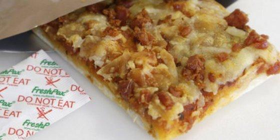 Crean la 'pizza eterna', puede almacenarse hasta 3 años sin refrigeración ni congelamiento