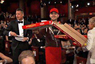 ¿Sabes cuánto le dieron de propina Brad Pitt y Martin Scorsese al repartidor de pizza de los Oscar?