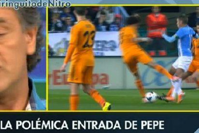 """Rafa Guerrero: """"Es una entrada horrible, hubo mala intención de Pepe"""""""