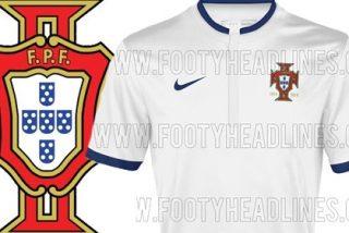 Así será la segunda camiseta de Portugal en el Mundial