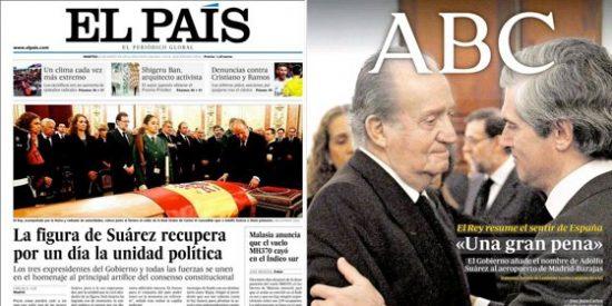 La prensa que antes detestaba a Suárez y ahora lo proclama santo súbito